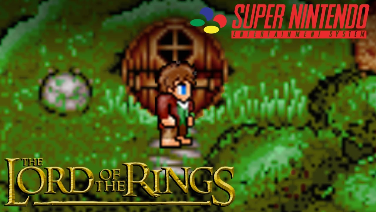 the lord of the rings snes