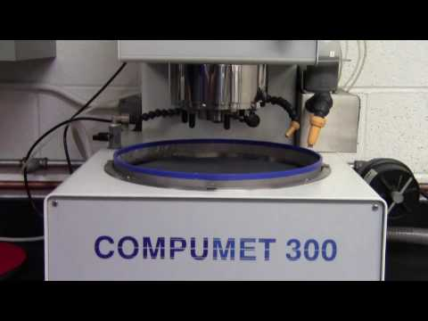 Lapmaster Compumet 300 Processing Samples