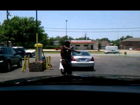 Crack Head Swagg in South Dallas @ Car Wash - YouTube