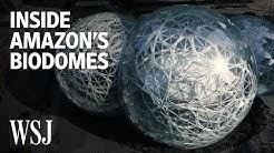 Inside Amazon's Spheres, the Biodome Office in Seattle | Open Office | WSJ