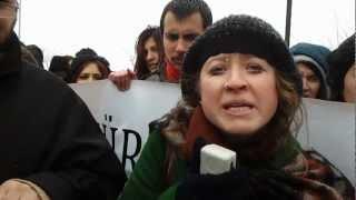 Öğrenciler Bologna İsyanında - Kocaeli Üniversitesinde Bologna Eylemi