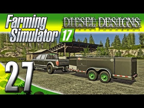 Farming Simulator 2017 Gameplay :EP27: Fuel Tanks & Buying More Sheep! (PC HD Goldcrest Valley)