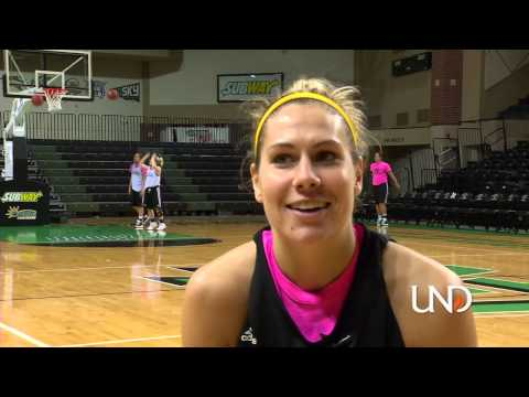 Madi Buck, University of North Dakota Basketball Star