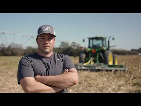 20-ft Major Cyclone for corn stalks   Webb Family Farms, North Carolina