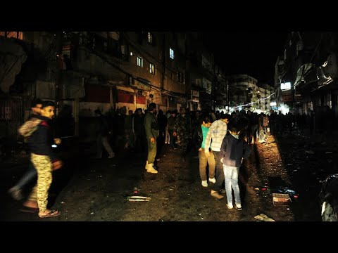 Syria: Dozens killed in rocket attack on Damascus market