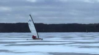 Ice Sailing - Jan 22, 2016