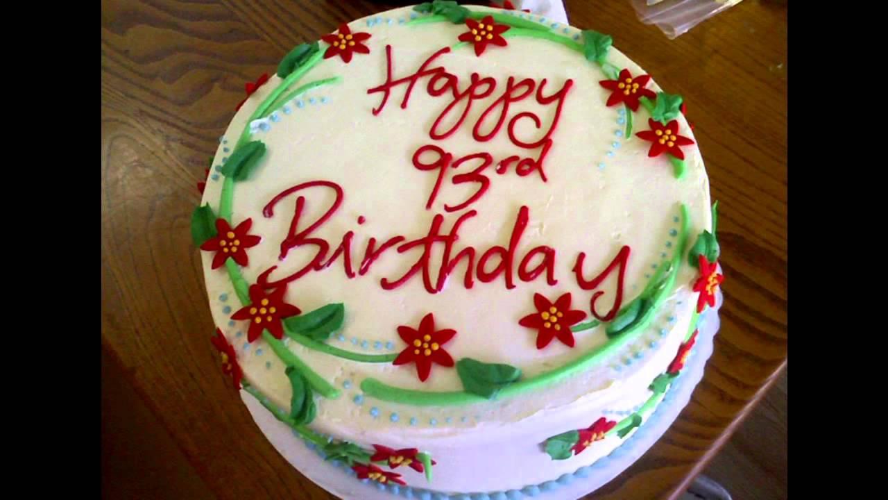 Homemade Birthday Cake Decorations Ideas Youtube