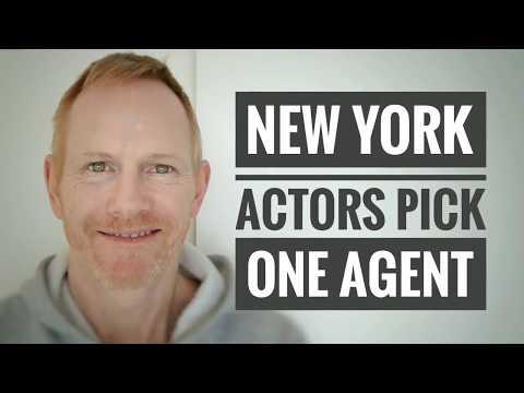 New York actors pick one agent!
