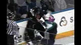 ahl cincinnati utah hockey fight shane o brien vs zenon konopka 3 10 04