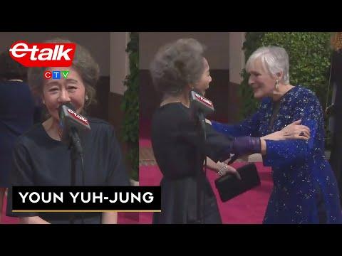 'Minari' Best Supporting Actress Youn Yuh-jung meets Glenn Close | etalk