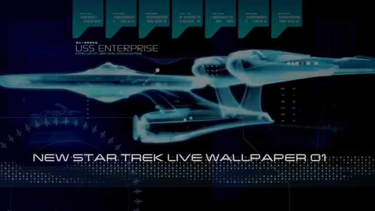 New Trek Live Wallpaper demo - YouTube