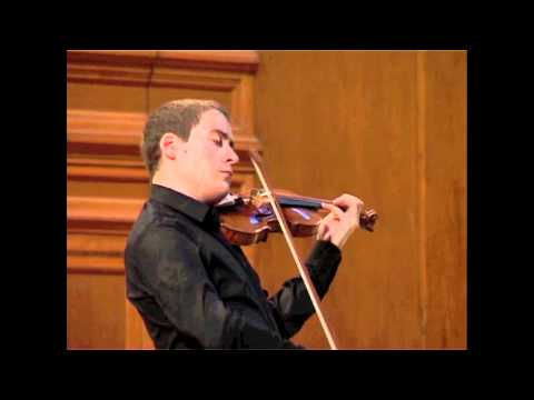 J. S. Bach: Sonata for solo violin in C Major, 2nd mov.: Fuga (Kristóf Baráti)