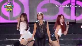 EXID - Up & Down Live Compilation (sexy ver.)