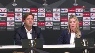 Συνέντευξη Τύπου κ. Μαρτίνς (Μίλαν - Ολυμπιακός) / Press Conference (Milan - Olympiacos)
