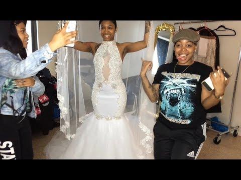 WEDDING DRESS FITTING/ PICKUP/ DIY - Enjoy !!