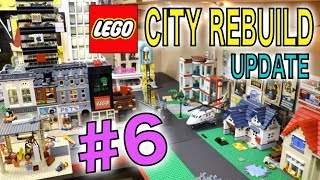 LEGO CITY REBUILD UPDATE # 6