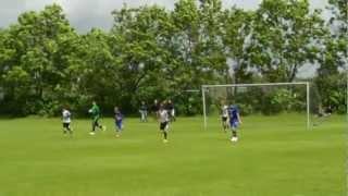 Varde-KFC U14. Resultat: 2-3 - Fodbold U14 (98) række 609 2. halvleg Del 2- lørdag 23. juni 2012