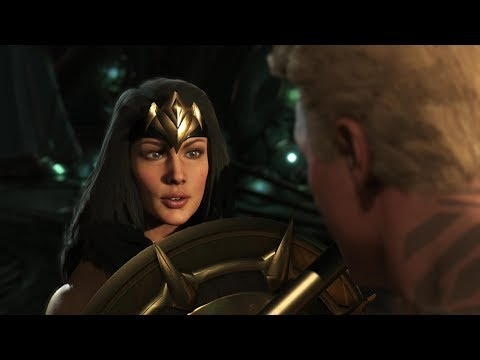 Injustice 2 - *All Wonder Woman Clash Quotes