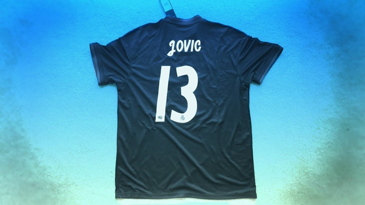 new styles f7d0d 4120c Luka Jović First Ever Real Madrid Jersey Unboxing