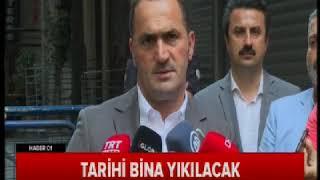 Beyoğlu Belediyesi Tarihi Bina Yıkılacak Haber Global