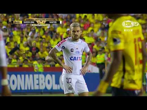 Resumen - Barcelona vs Santos - Copa Libertadores 2017 - Cuartos de final