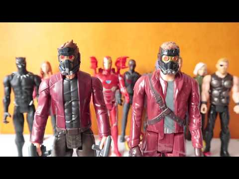 Star Lord con Power FX 🔥MARVEL Avengers Infinity War Juguete para niños | Kidsplacetown