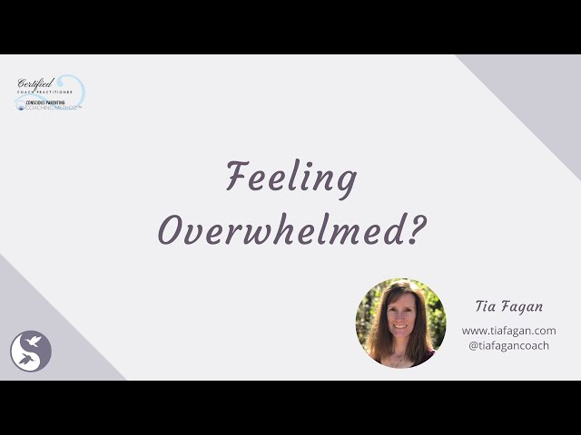 Overwhelm Tia Fagan May 2020