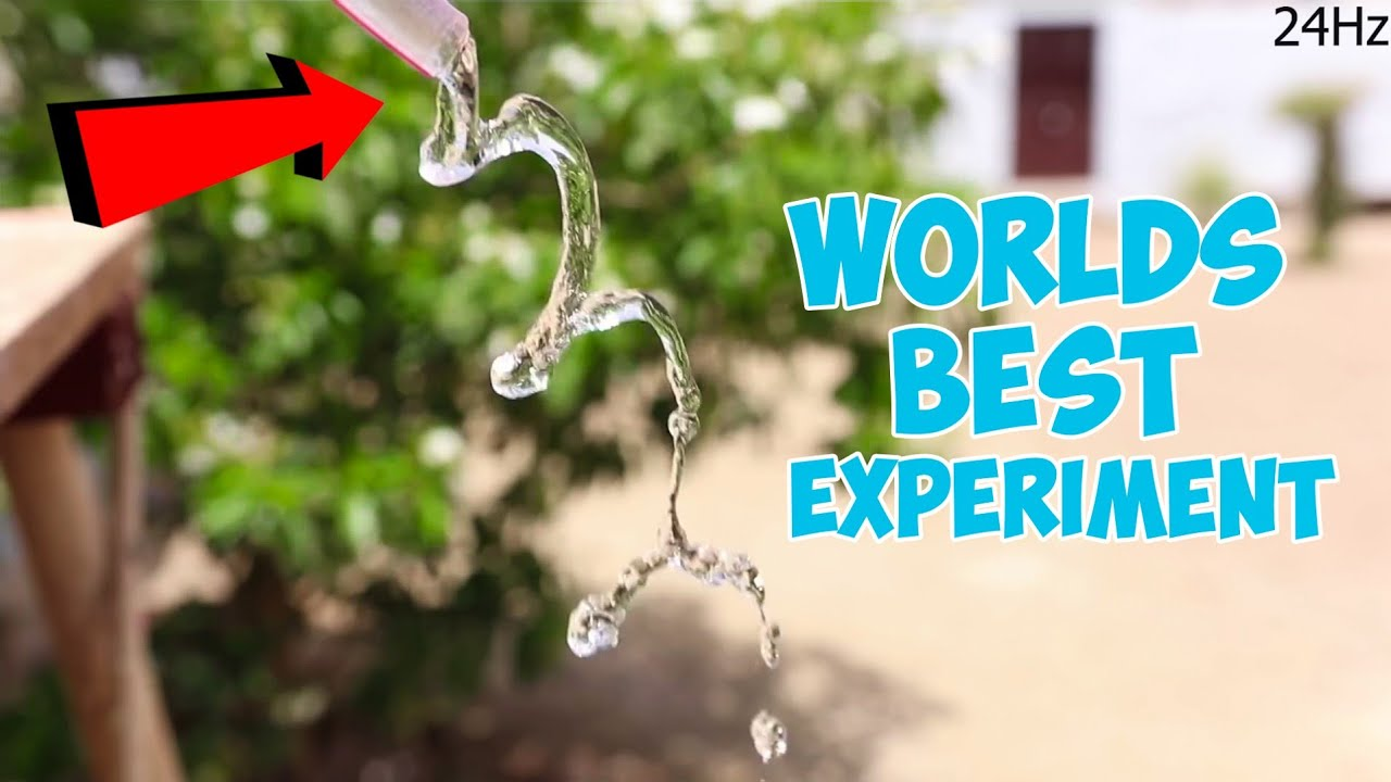 World's Best Experiment With Water - 100% Real