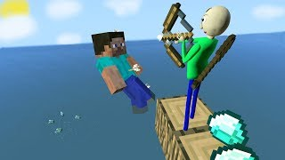 Garry's Mod not ordinary ragdolls [Minecraft MOD. Steve VS Baldi's]