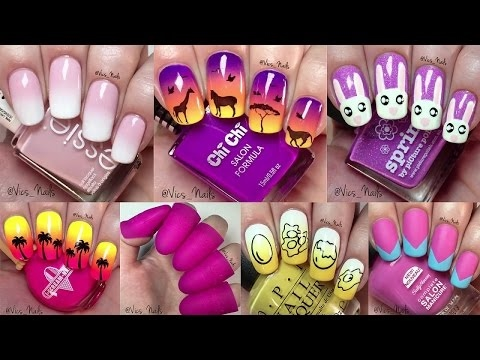 40 Nail Art Tutorials In 11 Minutes - Nail Art Designs Compilation 2017 💅💅💅