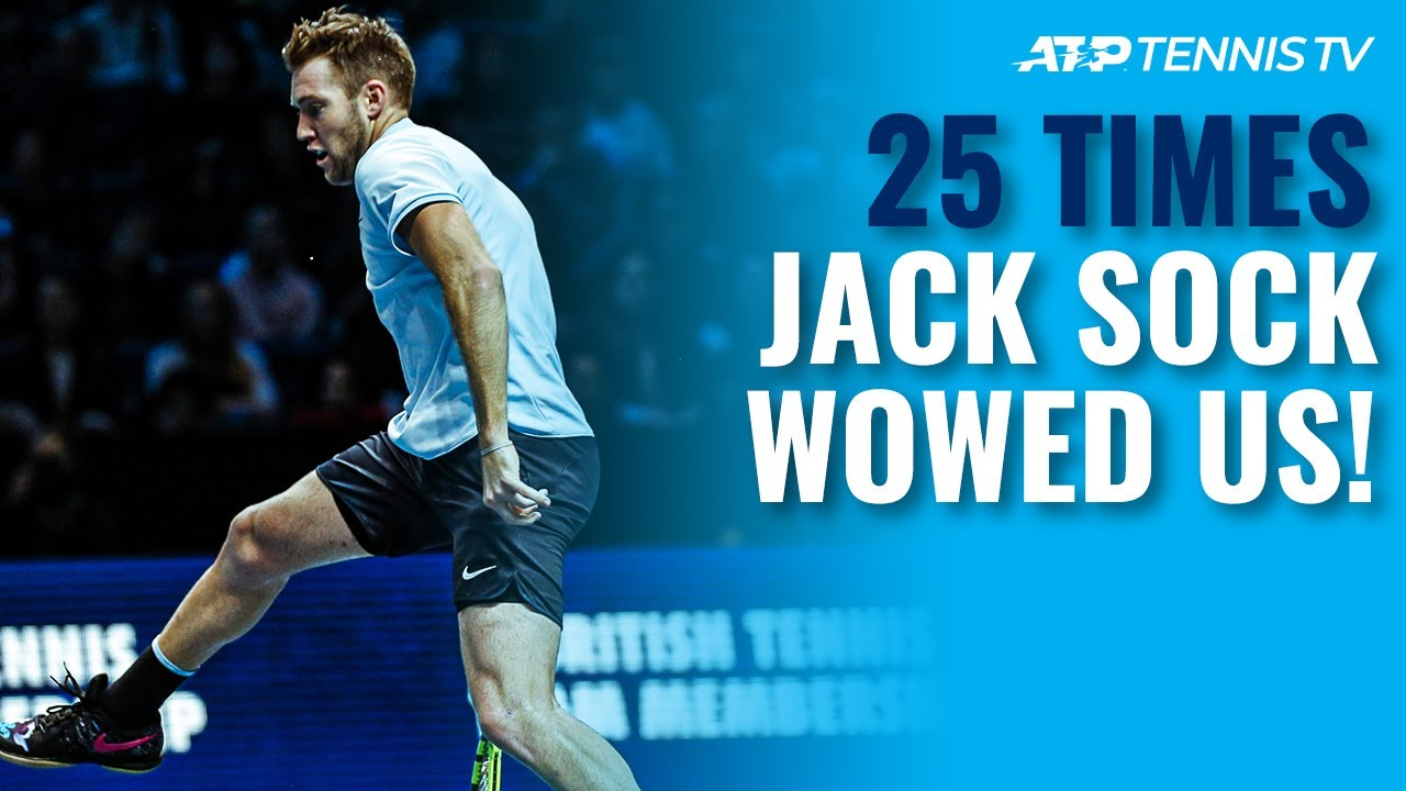 25 Times Jack Sock WOWED Us All! 😱