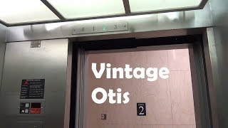 Vintage Otis Traction Elevator at Fondern Library in Dallas, TX