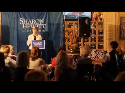Sharon Hewitt For Senate Announcement Speech