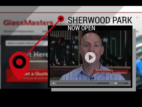 Sherwood Park - NOW OPEN - GlassMasters Autoglass - Windshield Replacement Auto Glass Repair