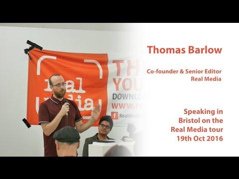 Thomas Barlow - The Future of New Media