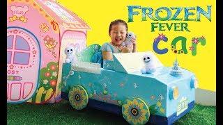Elsa's New Magical Frozen Fever Car