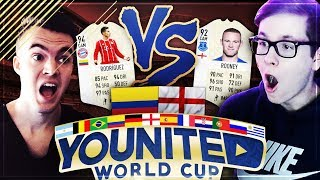 FIFA 18: YOUnited WORLD CUP FIFAGOALSUNITED vs REALFIFA!! 😍🇬🇧😱 #1