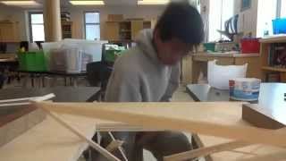 Science Olympiad - Bridge Building (apr. 17, 2015)