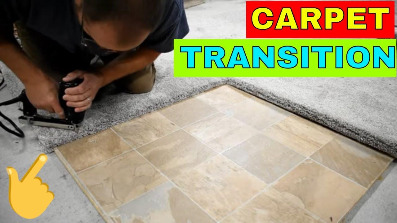 carpet transition turn and tack