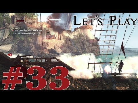Let's Play Assassin's Creed IV: Black Flag (PS4) Part 33 The Forts