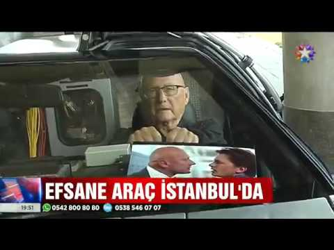 James Tolkan ve DeLorean Hilton İstanbul Kozyatağı'nda