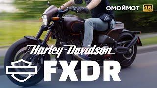 Harley-Davidson FXDR 114 —ОТВАЛ БАШКИ   Обзор Омоймот