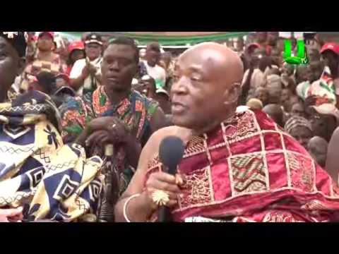 President Mahama rounds up Ashanti Region Tour