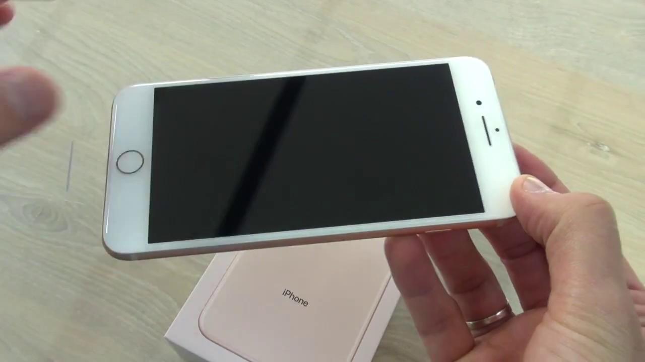 Déballage Apple iPhone 8 Plus