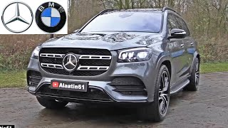 MERCEDES GLS 2020 vs BMW X7 2020 - FULL REVIEW Interior Exterior DETAILS