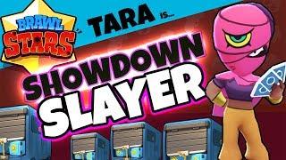 BRAWL STARS: TARA THE SHOWDOWN SLAYER - New Brawler Gameplay