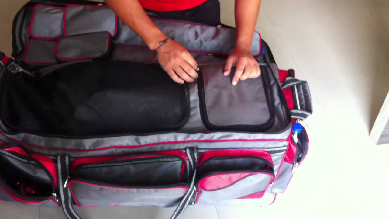 4507dac6d Cricket Kit bag review.MOV - YouTube