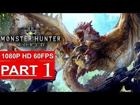MONSTER HUNTER WORLD Gameplay Walkthrough Part 1 BETA [1080p HD 60FPS PS4 PRO] - No Commentary