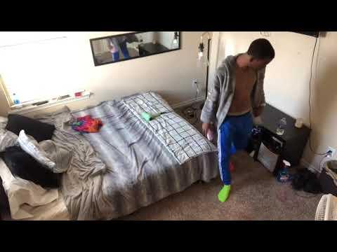 HIDDEN BEDROOM CAMERA ON BOYFRIEND ! *MUST WATCH*