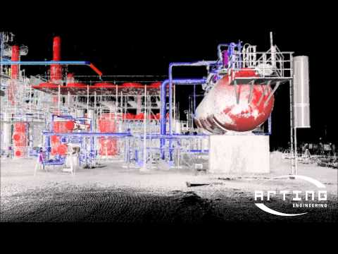 Laser scanner appliqué a l'industrie oil & gas 003